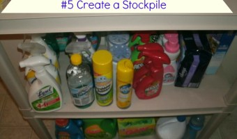 30 Ways to Save Without Coupons #5 Create a Stockpile