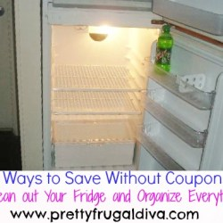 30 ways to save without coupons clean your fridge
