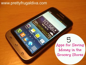 5 apps for saving money in the Grocery Stores