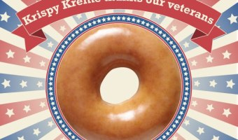 Krispy Kreme Veterans Day 2013