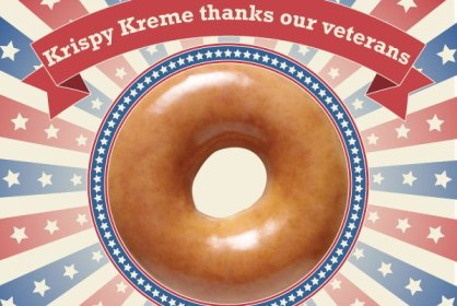 Krispy Kreme Veterans Day 2013