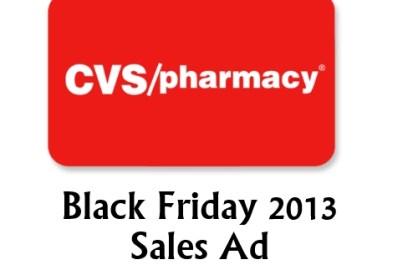 CVS black friday 2013
