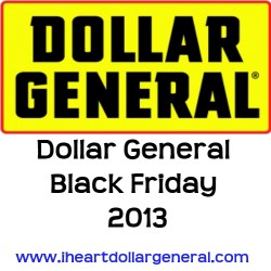 dollar general black friday