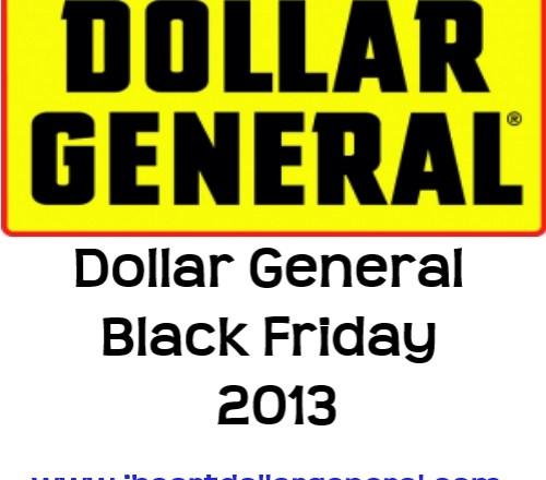 dollar general black friday