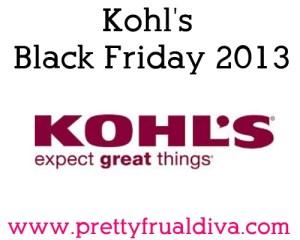 kohls black friday 2013