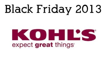 Kohls Black Friday 2013 Sales Ad