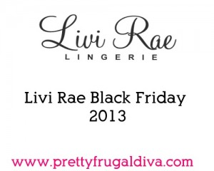 livi rae black friday  2013