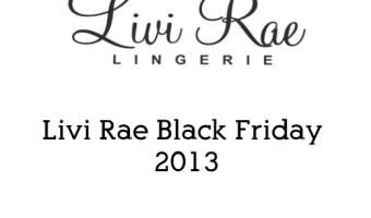 livi rae black friday 2013