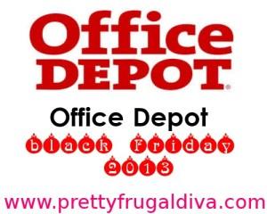 office depot black friday 2013