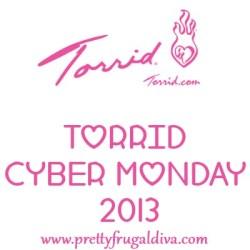 torrid cyber monday 2013