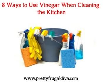 8 ways to use vinegar to clean the kitchen
