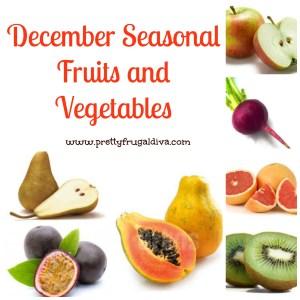 december seasonal fruits and vegetables