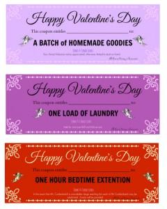 valentine love coupon
