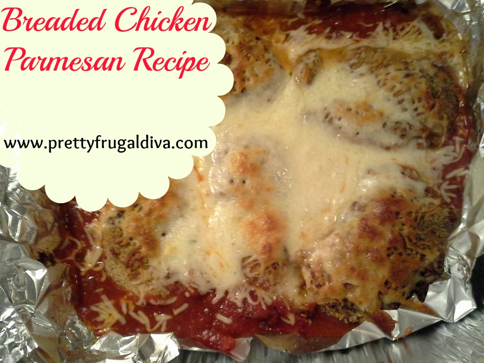 Breaded Chicken Parmesan Recipe