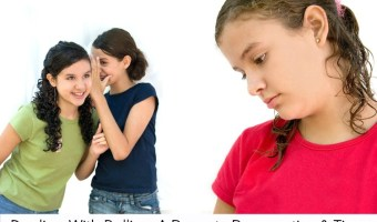 Dealing with Bullies: A Parents Prospective