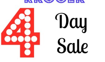 kroger 4 day sale