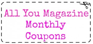 all you monthly coupons