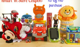 Kmart: In Store Coupon $3 off $10 Toy Purchase