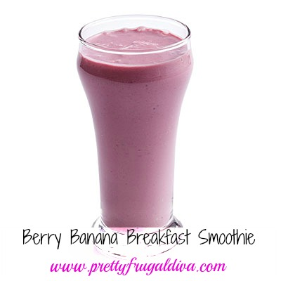 berry banana breakfast smoothie