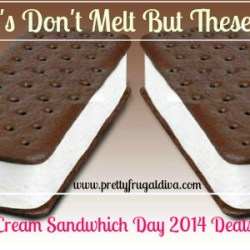 free ice cream sandwhich