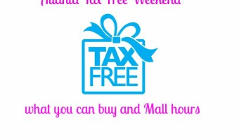 Georgia Tax Free Weekend Aug. 1 -3