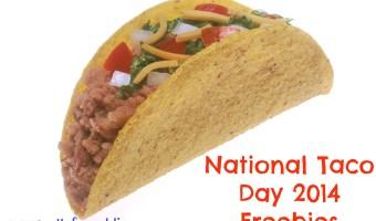 National Taco Day 2014 Freebies