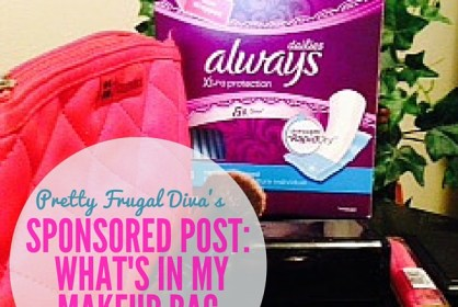 sponsored post whats in my makeup bag