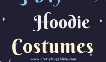 3 DIY Hoodie Halloween Costumes