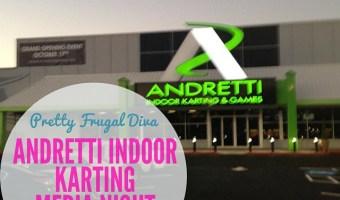 Andretti indoor karting media night in marrietta