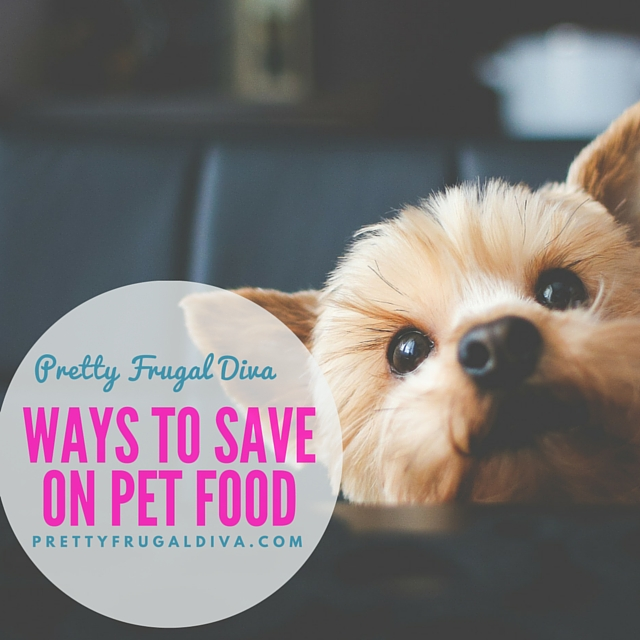 ways to save on pet food