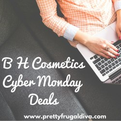 2015 B H Cosmetics Cyber Monday Deals