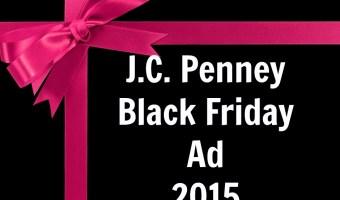 J.C. Penney Black Friday 2015 (Yesi Peni Viernes Negro 2015)