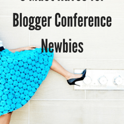 5 must have for blog conference newbies