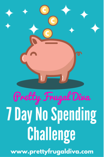 7 day no spending challenge