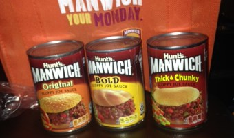 Sponsored Post: Celebrate National Sloppy Joe Day March 18th  with Manwhich