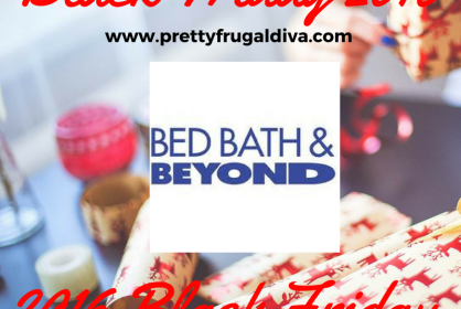 2016 Bed Bath and Beyond Black Friday
