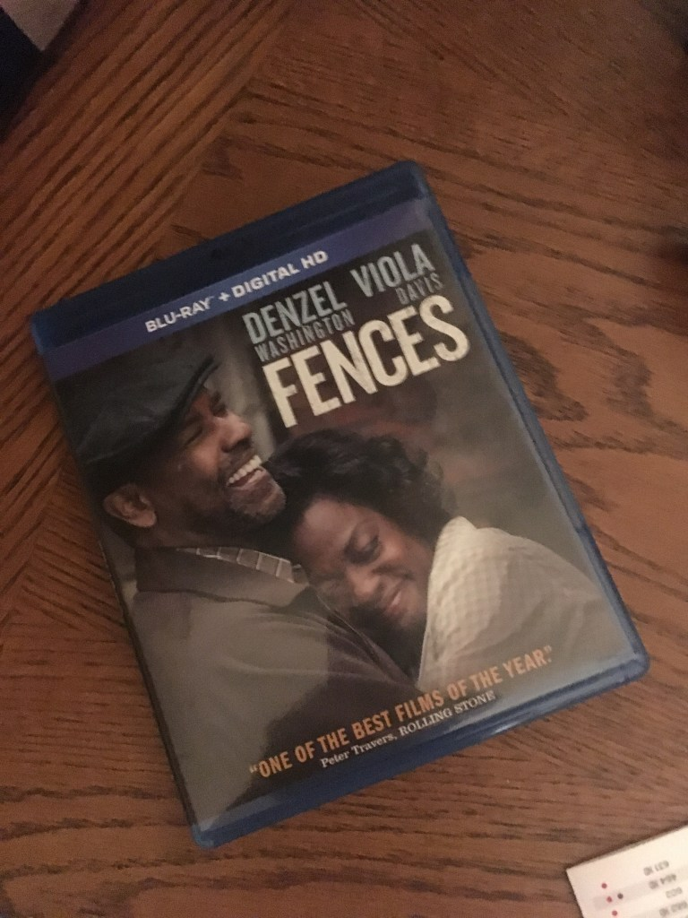 Win Fences on Blu Ray