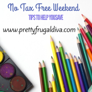 No Tax Free Weekend and Tips o Help You Save