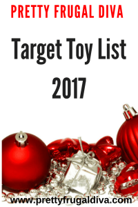 target toy list 2017