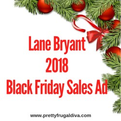 2018 Lane Bryant Black Friday Sales Ad