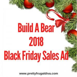 2018 Build A Bear Black Friday Sales Ad