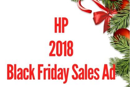 2018 HP Black Friday Sales Ad