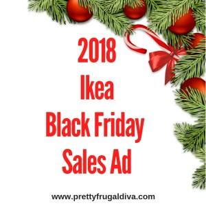 2018 Ikea Black Friday Sales Ad
