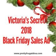 2018 Victoria's Secret Black Friday Sales Ad