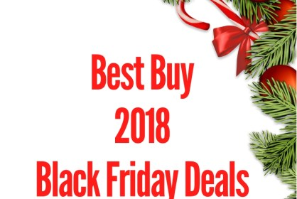Best Buy 2018 Black Friday Deal