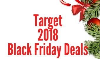 2018 Target Black Friday Sales Ad