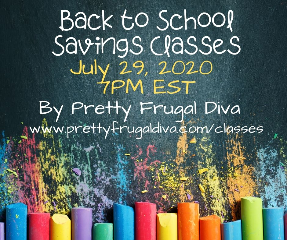 back to school savings class