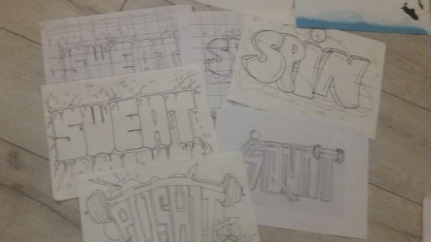 graff sketch