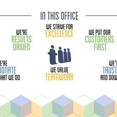 Teamwork Core Values Graphics