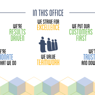 Teamwork Core Values Graphics